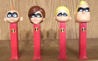 The Incredables Pez